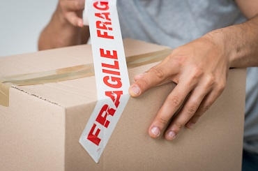 packing by professional movers